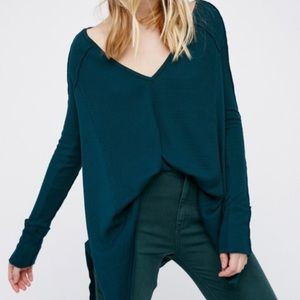 Free People We the Free Pacific Thermal Green S